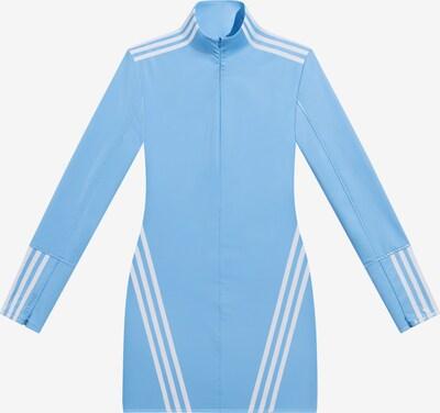 ADIDAS ORIGINALS Obleka | svetlo modra / bela barva, Prikaz izdelka
