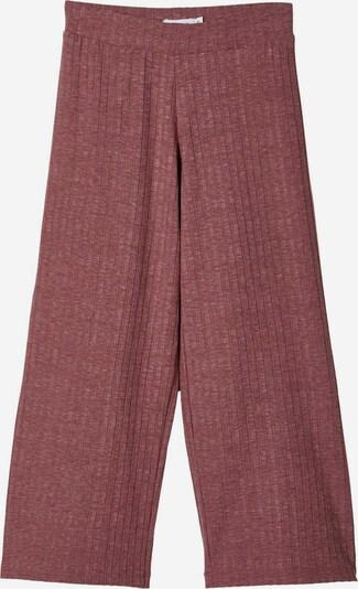 NAME IT Pantalon en bordeaux, Vue avec produit