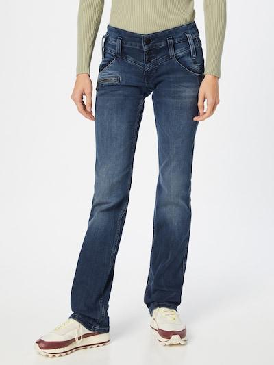 FREEMAN T. PORTER Jeans 'Amelie' in blue denim, Modelansicht