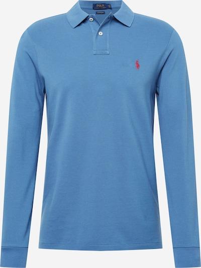 POLO RALPH LAUREN Poloshirt 'LSKCCMSLM2' in rauchblau / himbeer, Produktansicht