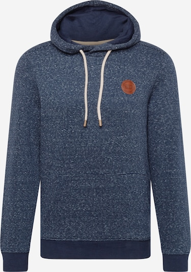 TOM TAILOR Sweater majica u mornarsko plava / smeđa / bijela, Pregled proizvoda