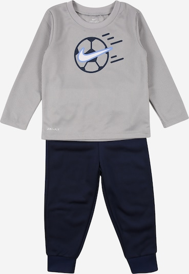 NIKE Sports suit in navy / grey / white, Item view