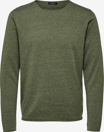 SELECTED HOMME Pullover 'Dome' in Grün
