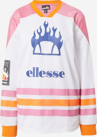 About You x Ellesse Shirt 'Gizemo' in Weiß