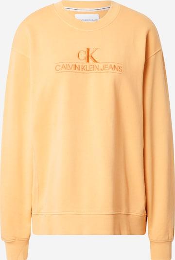 Calvin Klein Jeans Sudadera 'EMBROIDERY' en naranja, Vista del producto