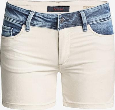Salsa Jeans 'Wonder' in blau / weiß, Produktansicht