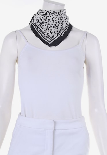 UNBEKANNT Scarf & Wrap in One size in Black / Off white, Item view