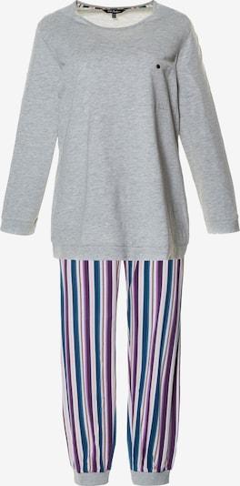 Ulla Popken Pyjama in grau, Produktansicht