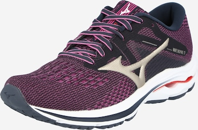 MIZUNO Running shoe 'WAVE INSPIRE 17' in Gold / Wine red / Light red, Item view