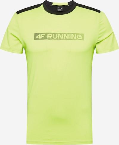 4F T-Shirt fonctionnel en pomme / noir, Vue avec produit