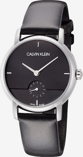 Calvin Klein Uhr in silbergrau / schwarz, Produktansicht