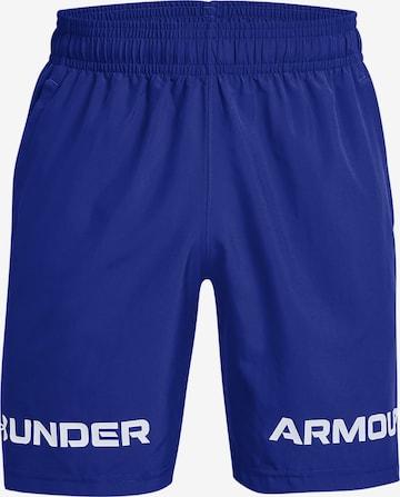 UNDER ARMOUR Shorts in Blau