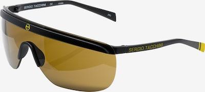 Sergio Tacchini Sportzonnebril in de kleur Donkergeel / Zwart, Productweergave