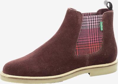 KICKERS Chelsea Boots 'Tyga' in pink / rosa / rot / bordeaux / schwarz, Produktansicht