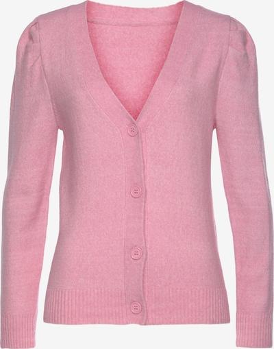 LASCANA Strickjacke in pink, Produktansicht