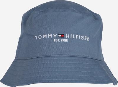 TOMMY HILFIGER Klobúk - námornícka modrá / dymovo modrá / svetločervená / biela, Produkt