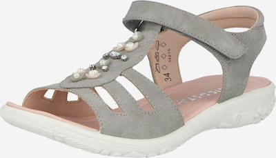 RICOSTA Sandaalit 'CARA' värissä harmaa / helmenvalkoinen, Tuotenäkymä