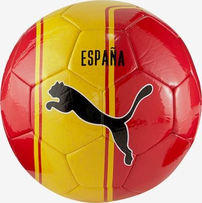 PUMA Balle 'Europapokal' en jaune / rouge / noir, Vue avec produit