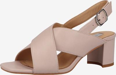Sandale cu baretă Steven New York pe roz / roz, Vizualizare produs