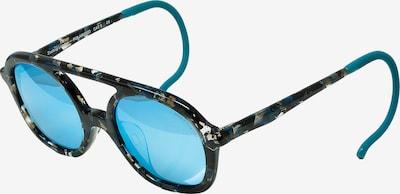 Zoobug Retrosonnenbrille 'Noah' für Kinder in grau / mischfarben: Frontalansicht