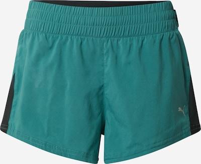 PUMA Sportbroek in de kleur Groen / Zwart, Productweergave
