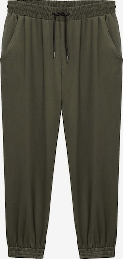 Pantaloni VIOLETA by Mango pe kaki, Vizualizare produs