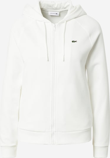 LACOSTE Sportiska jaka, krāsa - balts, Preces skats