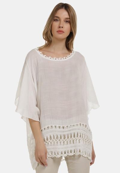 Usha Shirt in de kleur Wit: Vooraanzicht