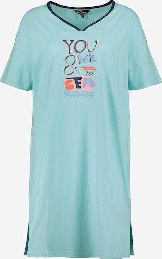 Ulla Popken Nachthemd in de kleur Lichtblauw, Productweergave