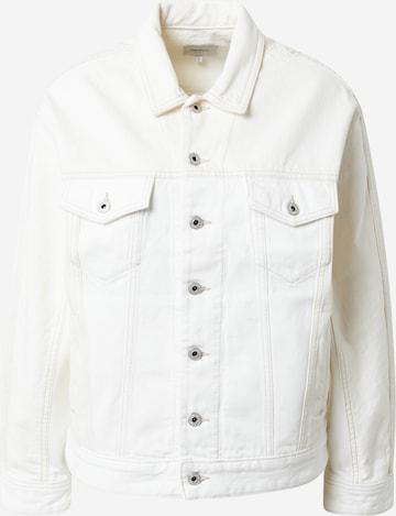 Pepe Jeans Between-Season Jacket 'PEARL' in White