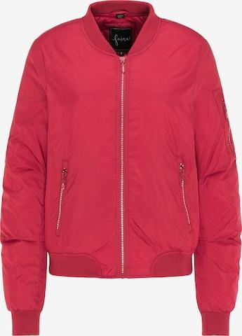 faina Between-Season Jacket in Red