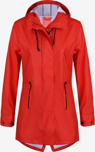 Dingy Rhythm Of The Rain Regenmantel 'Ella' in rot, Produktansicht