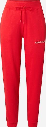 Calvin Klein Performance Sportbyxa i körsbärsröd, Produktvy