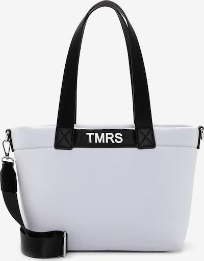 TAMARIS Shopper 'Christin' in hellgrau / schwarz, Produktansicht