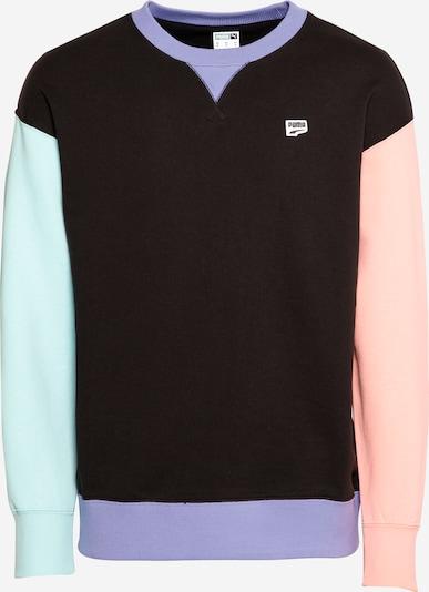 PUMA Sweatshirt in mischfarben / schwarz, Produktansicht