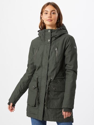 Ragwear Jacke 'ELSA' in khaki: Frontalansicht