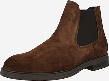 SELECTED HOMME Chelsea Boots in Brown
