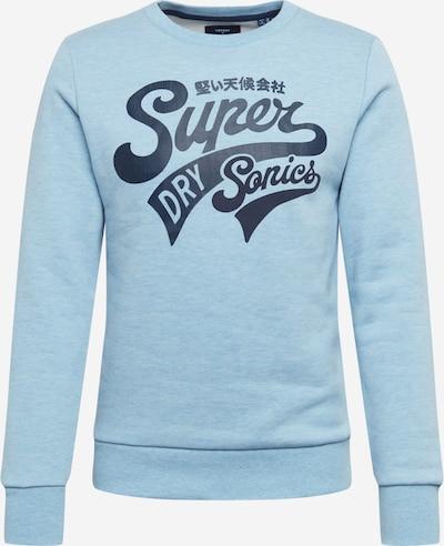 Superdry Collegepaita värissä vaaleansininen / tummansininen, Tuotenäkymä