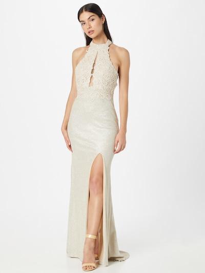 Forever Unique Kleid 'LYDIA' in champagner, Modelansicht