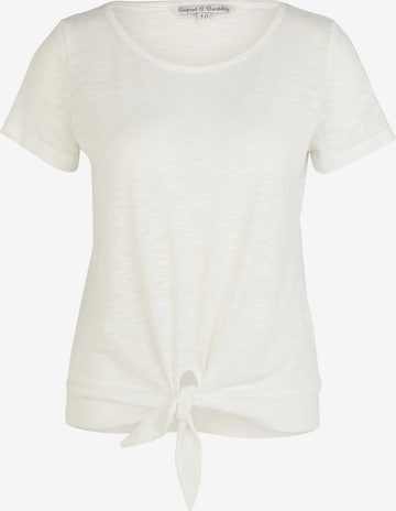 Rupert and Buckley Shirt 'Swift Jersey' in White