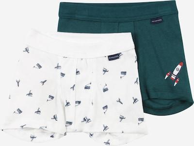 SCHIESSER Underpants in Dark blue / Green / White, Item view