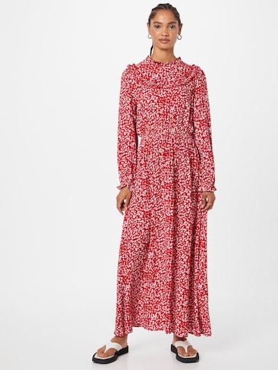 Rochie tip bluză Trendyol pe crem / roz pudră / roșu / negru, Vizualizare model