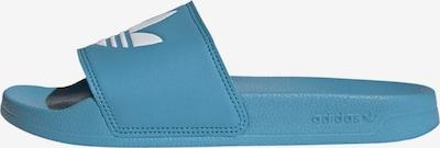 ADIDAS ORIGINALS Badeschuh in blau / weiß, Produktansicht