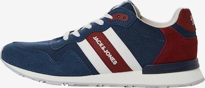 Sneaker low JACK & JONES pe albastru închis / roșu / alb, Vizualizare produs