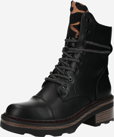 H.I.S Lace-Up Ankle Boots in Black, Item view
