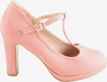 Belle Women Mary Jane Pumps in 39 in Pink