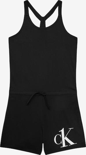 Calvin Klein Swimwear Playsuit in schwarz, Produktansicht