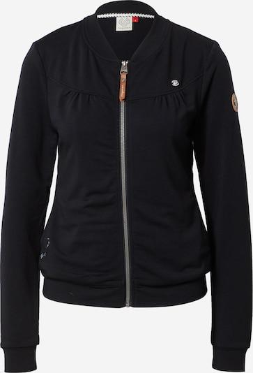 Ragwear Sweatjacke 'Kenia' in schwarz, Produktansicht