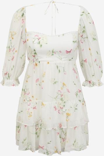 Forever New Petite Kleid 'Janine' in gelb / hellgrün / rosé / weiß, Produktansicht