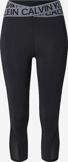 Calvin Klein Performance Pantalon de sport en noir / blanc, Vue avec produit